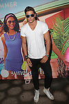 Model Andrea Denver Attends Sunglass Hut Electric Summer Campaign Kick-Off Held at Industry Kitchen