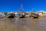 Low tide at St Ives Harbour