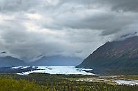 Matanuska glacier along the Glenn Highway, southcentral, Alaska.