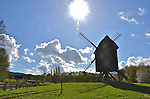 Windmill, Hessenpark, Hessen, Germany