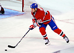 9 January 2010: Montreal Canadiens' center Scott Gomez in action against the New Jersey Devils at the Bell Centre in Montreal, Quebec, Canada. The Devils edged out the Canadiens 2-1 in overtime. Mandatory Credit: Ed Wolfstein Photo