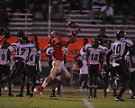 Lafayette High's Colby Terrell (10) vs. Greenwood in Oxford, Miss. on Friday, August 24, 2012. Lafayette won 41-0.