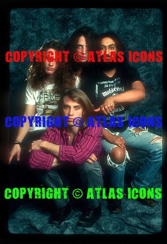 Soundgarden; 1989<br /> Photo Credit: Eddie Malluk/Atlas Icons.com