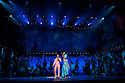 "London, UK. 21/07/2011.  ""FELA!"" opens at Sadler's Wells. FELA! is a provocative hybrid of dance, theatre and music exploring the extravagant world of Afrobeat legend Fela Kuti. Sahr Ngaujah as Fela and Paulette Ivory as Sandra Izsadore. Photo credit : Jane Hobson"