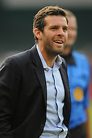 DC United Head Coach Ben Olsen.   AFC Ajax defeated DC United 2-1 during an International Friendly at RFK Stadium Sunday May 22, 2011.