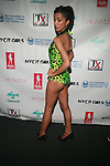 Model Wearing Natasha NYC Backstage at Swim Sunrise Fashion Show Held at New York Aqua Bar & Lounge inside Grace Hotel, NY 7/27/12