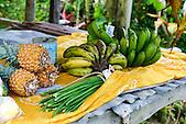 Vente de fruits et légumes sur le bord de la route Koné-Tiwaka, Nouvelle-Calédonie