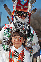 Ohkay Owingeh - San Juan Pueblo Matachine Dancers   2009/2010/2011 photos