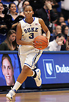 06 February 2012: Duke's Shay Selby. The Duke University Blue Devils defeated the University of North Carolina Tar Heels 96-56 at Cameron Indoor Stadium in Durham, North Carolina in an NCAA Division I Women's basketball game.