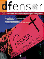 Cover for DFensor magazine, Human Rights Commission of Mexico City, march 2011