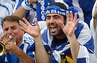 FUSSBALL  EUROPAMEISTERSCHAFT 2012   VORRUNDE Polen - Griechenland      08.06.2012 Griechische Fans