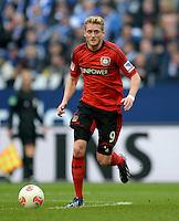 FUSSBALL   1. BUNDESLIGA   SAISON 2012/2013    29. SPIELTAG FC Schalke 04 - Bayer 04 Leverkusen                        13.04.2013 Andre Schuerrle (Bayer 04 Leverkusen) am Ball