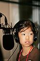 "KIDZANIA TOKYO, ""Edutainment City"",.girl DJing at 81.3 FM J-WAVE radio studios."