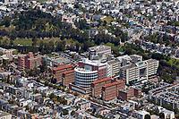 aerial photograph San Francisco General Hospital, San Francisco, California