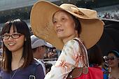 Mainland Chinese punters at the Hong Kong Jockey Club's Shatin Racecourse.