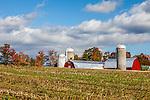 Autumn view from East Warren Rd, Warren, VT, USA