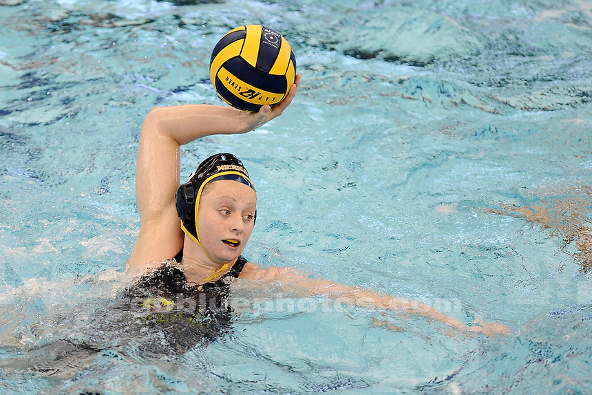 The University of Michigan water polo team defeats Sienna, 14-6, in the Wolverine Invitational at Canham Natatorium in Ann Arbor, Mich., on March 16, 2014.