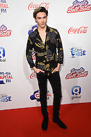 LONDON, UK. December 3, 2016: George Shelley at the Jingle Bell Ball 2016 at the O2 Arena, Greenwich, London.<br /> Picture: Steve Vas/Featureflash/SilverHub 0208 004 5359/ 07711 972644 Editors@silverhubmedia.com
