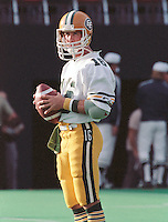 Matt Dunigan Edmonton Eskimos quarterback 1985. Copyright photograph Scott Grant