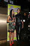 Angela Yee and Sevyn Streeter at  135th Street Agency Holiday Party Featuring the Beautiful Textures 2014 Upfront! And Special Performance by Atlantic Records' Sevyn Streeter Hosted by Angela Yee, Angela Simmons and Sway Calloway Held at Arena, NY