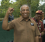New York City Council Member Charles Barron and Freedom Party Founder attends Central Park Summer Stage: DJ Kool Herc, Blitz the Ambassador and Public Enemy, NY 8/17/10