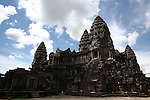 The central tower complex of Angkor Wat, Cambodia. June 7, 2013.