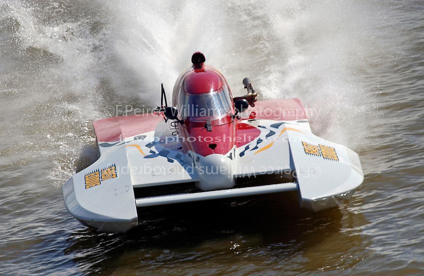 "Dan Kanfoush, CS-75 ""Fast Eddie"" (2.5 Litre Stock class hydroplane)"