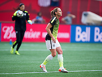 Winnipeg, Canada- June 8, 2015:  The USWNT defeated Australia 3-1 during the opening group game of the FIFA Women's World Cup at Winnipeg Stadium.
