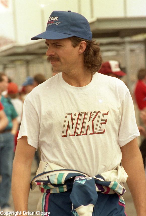 Kyle Petty Daytona 500 at Daytona International Speedway on February 19, 1989.  (Photo by Brian Cleary/www.bcpix.xom)