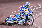 Heat 3: Ben Hopwood of Hackney - Hackney Hawks vs Team America - Speedway Challenge Meeting at Rye House - 09/04/11 - MANDATORY CREDIT: Gavin Ellis/TGSPHOTO - Self billing applies where appropriate - Tel: 0845 094 6026