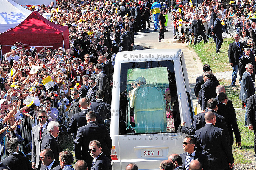 The Pope vist in Palermo.