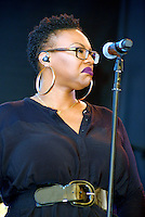 LOS ANGELES, CA -JULY 23: Singer Toni Scruggs performs at the 1st Annual Los Angeles Soul Music Festival at the Autry in Griffith Park on July 23, 2016 in Los  Angeles, California. Credit: Koi Sojer/Snap'N U Photos/MediaPunch