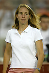 14 July 2004: Carrie Moore. The Washington Freedom defeated the Nottingham Forest Ladies 8-0 at RFK Stadium in Washington, DC during an exhibition matched played to honor the Freedom's 2002 WUSA championship..