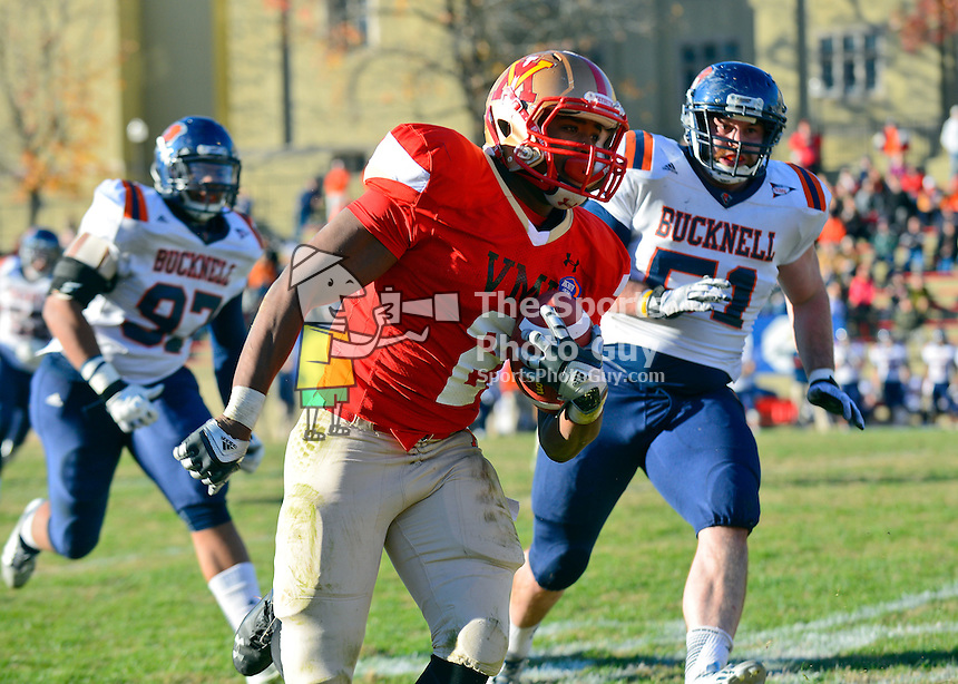 NCAA FCS: Bison hold off Keydet charge as Bucknell defeats VMI, 35-23