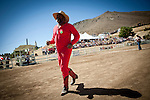 A camel jockey at the 51st annual International Camel Races in Virginia City, Nevada  September 12, 2010. .CREDIT: Max Whittaker for The Wall Street Journal.CAMEL