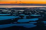 Aerial over Bristol Bay, Alaska