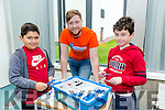 At the Kerry Science Festival in IT Tralee on Saturday were Daniel Kenny, Andrew Kavanagh, Lean Lego, Matthew Horgan