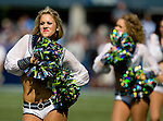Seattle Seagals perform before kickoff against the Dallas Cowboys at CenturyLink Field in Seattle, Washington on September 16, 2012. The Seahawks beat the Cowboys 27-7. © 2012. Jim Bryant Photo. ALL RIGHTS RESERVED.