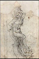£12 million Da Vinci sketch found.