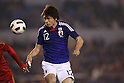 Mizuki Hamada (JPN), .NOVEMBER 27, 2011 - Football / Soccer : .Men's Asian Football Qualifiers Final Round .for London Olympic Games .between U-22 Japan 2-1 U-22 Syria .at National Stadium, Tokyo, Japan. .(Photo by YUTAKA/AFLO SPORT) [1040]
