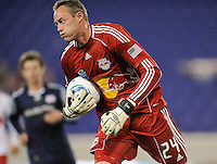 New York Red Bulls goalkeeper Greg Sutton (24.)The New York Red Bulls defeated the New England Revolution 3-0 during a U. S. Open Cup qualifier round match at Red Bull Arena in Harrison, NJ, on May 12, 2010.