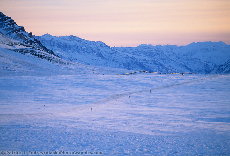 James Dalton Highway, Brooks range, Arctic, Trans Alaska pipeline, Alaska