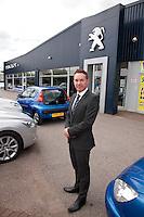 Andy Moss, General Manager of Bristol Street Motors Peugot