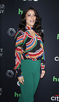 NEW YORK, NY-October 17: Yasmine al Massri at PaleyFest New York presents Quantico at the Paley Center for Media in New York.October 17, 2016. Credit:RW/MediaPunch