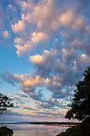 Connecticut River at dusk.