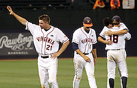 Oklahoma Sooners defeated the Virginia Cavaliers11-0 in the final game of the NCAA Super Regional baseball series held June 12-14, 2010 in Charlottesville, VA. Oklahoma went on to the College World Series in Omaha, NB. (Photo © Andrew Shurtleff)