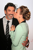 BEVERLY HILLS, CA - MAR 1: Chuck Lorre, Kaley Cuoco at the Academy of Television Arts & Sciences 21st Annual Hall of Fame Ceremony at the Beverly Hills Hotel on March 1, 2012 in Beverly Hills, California