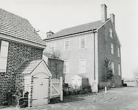 1969 January 31..Historical..Willoughby - Baylor House..Dennis Winston.NEG# DRW69-1-1.NRHA#..