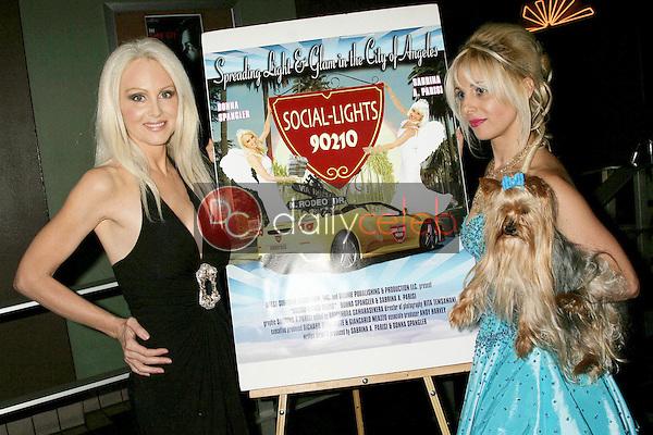 Donna Spangler and Sabrina Parisi<br />at the Los Angeles Screening of 'Social Lights'. Regency Fairfax Cinemas, Los Angeles, CA. 08-05-09<br />Dave Edwards/DailyCeleb.com 818-249-4998