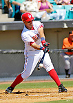5 March 2006: Royce Clayton, shortstop for the Washington Nationals, swings the bat during a Spring Training game against the Baltimore Orioles. The Nationals defeated the Orioles 10-6 at Space Coast Stadium, in Viera Florida...Mandatory Photo Credit: Ed Wolfstein..